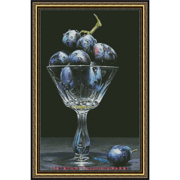 Натюрморт в виноградом