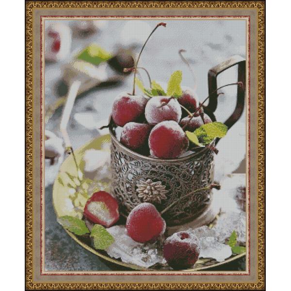 Натюрморт с вишнями