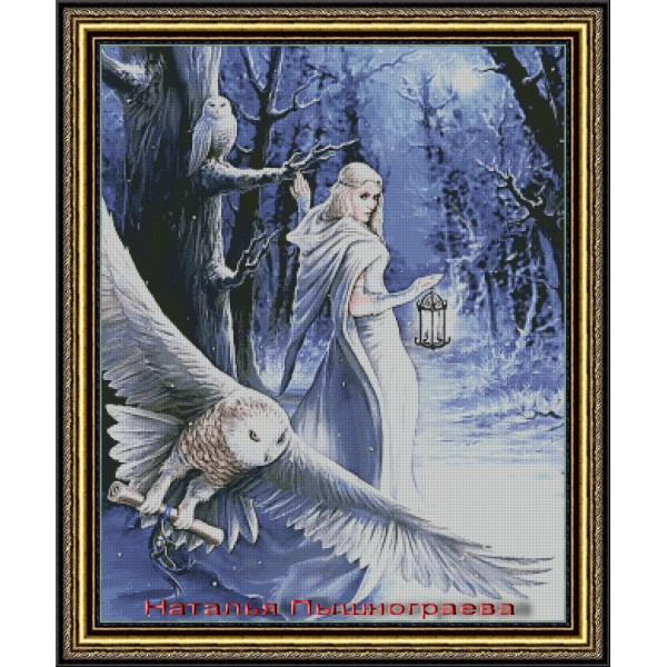 Девушка с совами