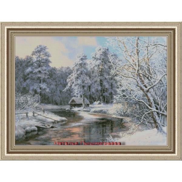 Зимняя деревушка