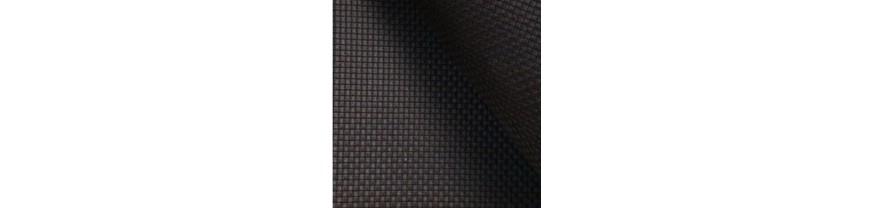 Канва Аида 18 черная средней жесткости