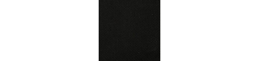 Канва Аида  № 14 -55 клеток  черная , средней жесткости