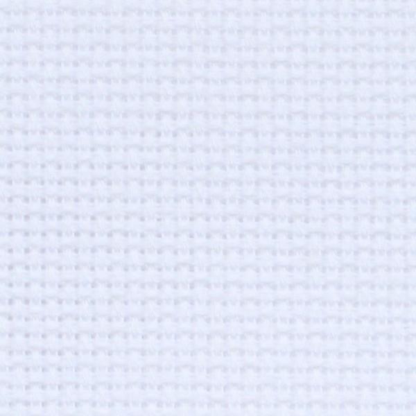 Канва Аида  № 14 -55 клеток  белая , средней жесткости